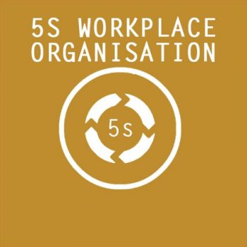 5S Workplace Organisation Symbol, 5S Workplace Organization