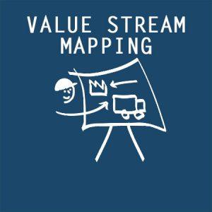Value Stream Mapping VSM icon