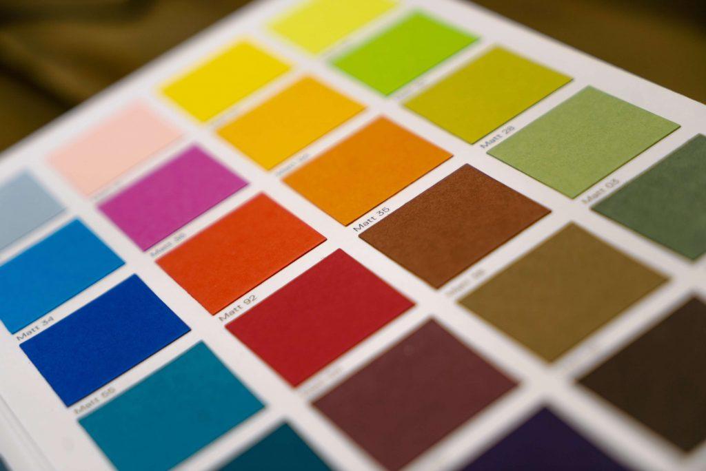 Colorman print colours